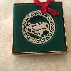 Lenox Other - White porcelain Christmas ornament